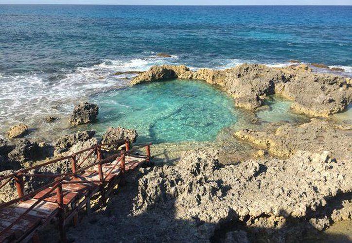La 'Piscina del Rey' se encuentra en Isla Mujeres. (Contexto/Internet).