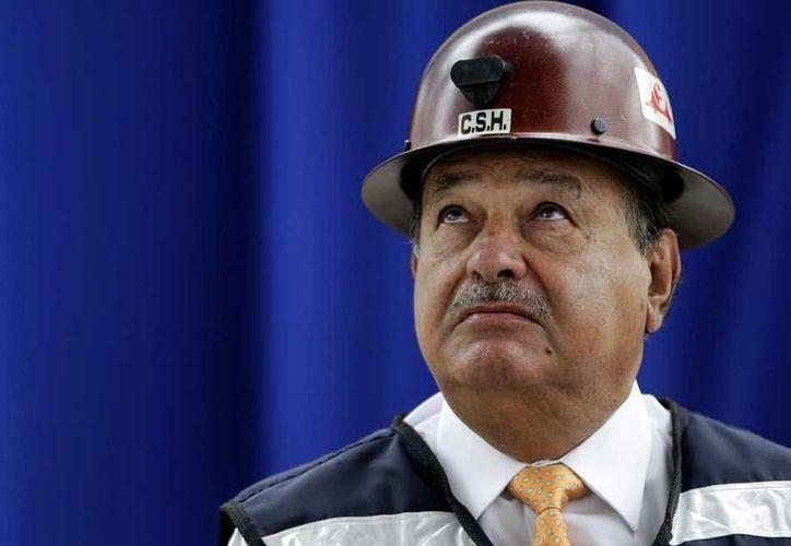 El empresario Carlos Slim, el hombre más rico de México. (Internet)
