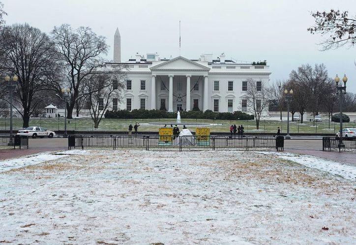 Imagen de archivo de la Casa Blanca, sede del Gobierno de Estados Unidos.  (Archivo/Notimex)