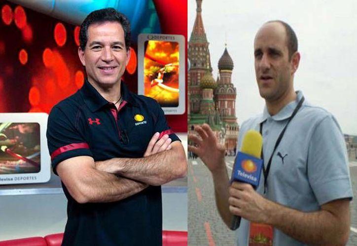 Javier Alarcón y Alberto Lati fueron parte de los cambios estructurales que Televisa Deportes ha sufrido en los últimos meses. Ahora iniciarán proyectos nuevos fuera de la televisora de Chapultepec. (Imagen tomada de www.provincia.com)