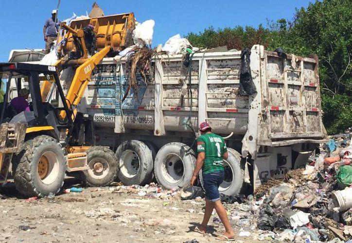 Por cada tonelada de basura se separan 89 kilos de plásticos de diversos tipos. (Sergio Orozca/ SIPSE)