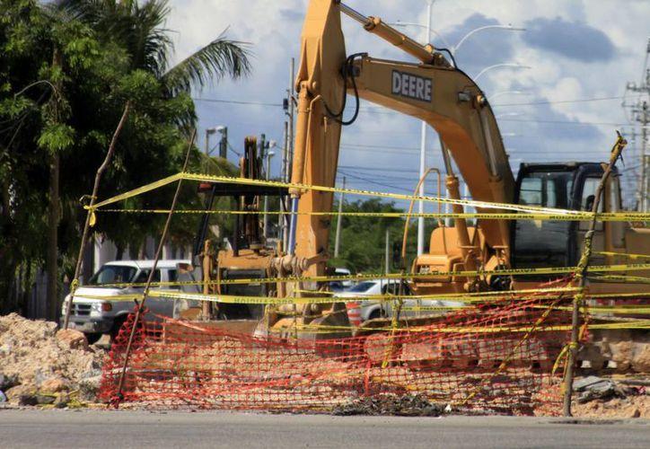 Autoridades esperan los recursos federales para poner en marcha la construcción de nuevos drenajes. (Archivo/SIPSE)