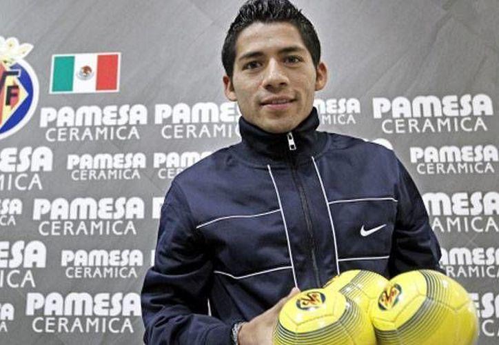 Aquino se convertirá en el tercer mexicano que juega en el Villarreal. (www.record.com.mx)