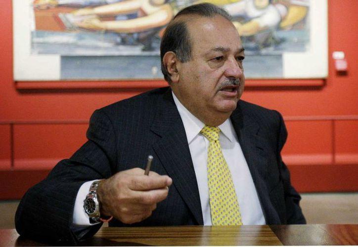 Por cuarto año, el empresario de origen libanés está a la cabeza de la lista de Forbes.(Agencias)