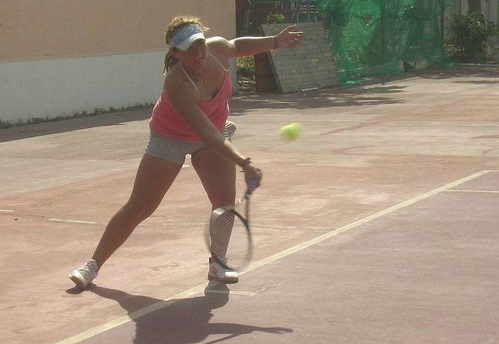 Intensa actividad se vivió en el Cancún Tennis Spirit2. (Raúl Caballero/SIPSE)