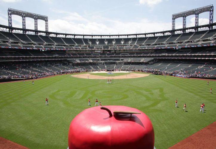 Vista del estadio Citi Field, sede del Juego de Estrellas de Grandes Ligas. (Agencias)