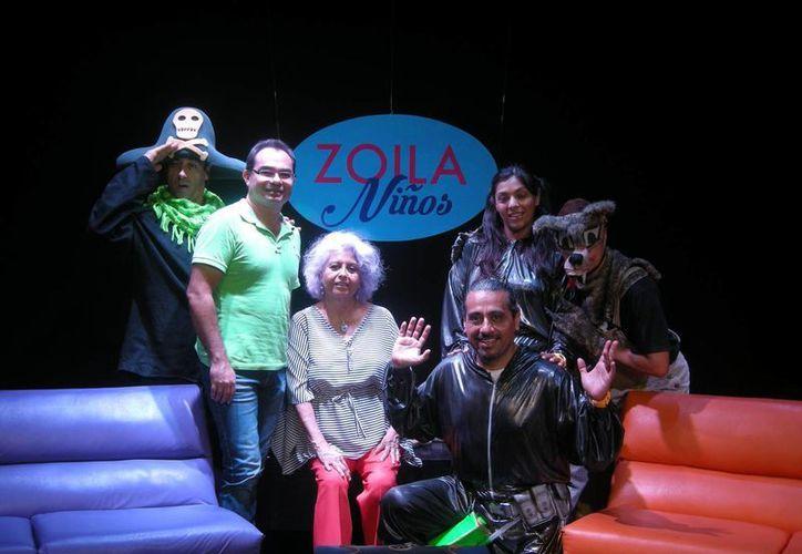 """Anuncian arranque de un nuevo programa teatral: """"Zoila Niños"""". (Redacción/SIPSE)"""