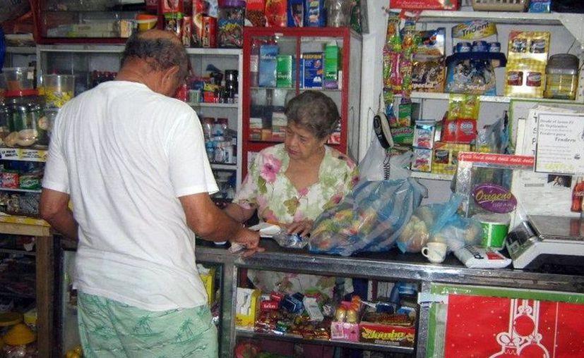 Las tiendas no han tenido desabasto. (Novedades Yucatán)