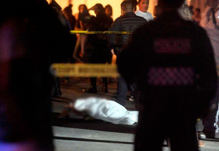 Uno de los baleados murió en el lugar, el otro, fue llevado a un nosocomio. (Internet)