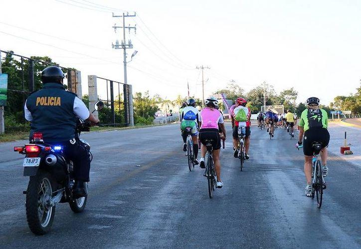 Durante la carrera las calles estarán cerradas desde las 7 hasta las 12 horas del domingo 22 de noviembre. (Redacción/SIPSE)