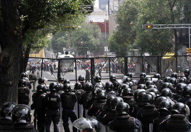 Osorio Chong confió en que no haya violencia durante las manifestaciones. (Imagen de contexto/Notimex)