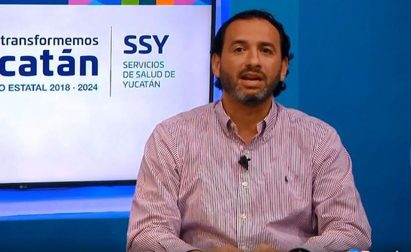 El titular de la SSY confirmó que hay ocho casos de Covid-19 en Yucatán. (Novedades Yucatán)