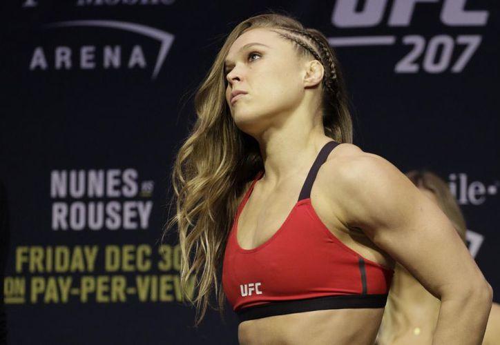 Ronda Rousey, encaminada a ser grande. (Foto: AP)