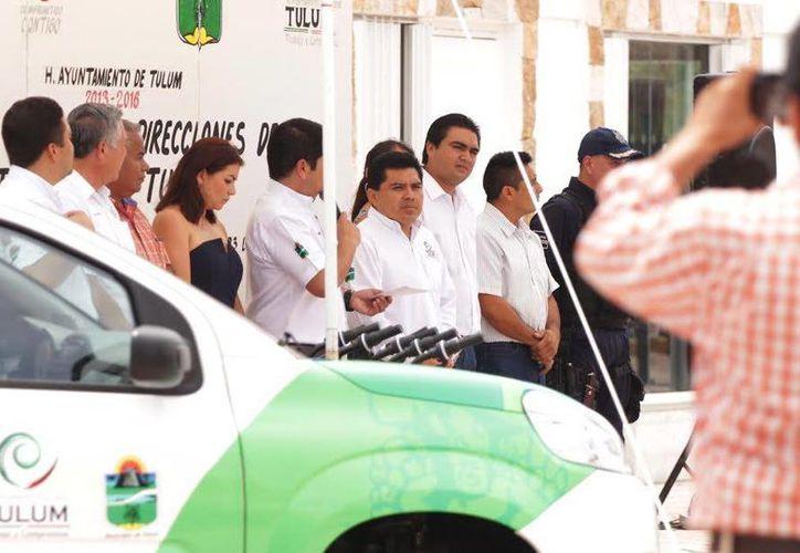 El campo vehicular fue actualizado con nuevas unidades en el Ayuntamiento de Tulum. (Redacción/SIPSE)