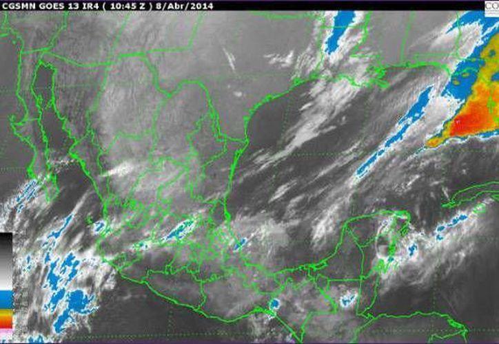 La Península de Yucatán registrará cielo de despejado a medio nublado. (Redacción/SIPSE)