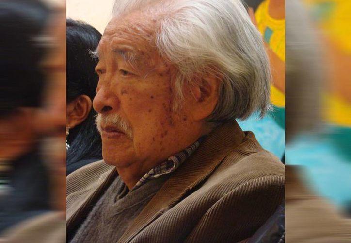 Desde 1955 el pintor Luis Nishizawa daba clases en la Escuela Nacional de Artes Plásticas, tarea que hasta hoy desempeñaba. (Conaculta)