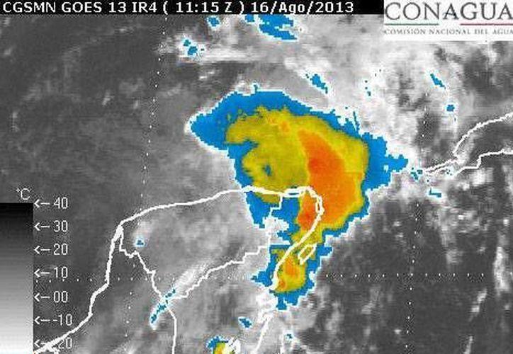 En Q.Roo se esperan lluvias de fuertes a intensas, con un estimado de 70 a 150 milímetros de agua. (Foto: Conagua)