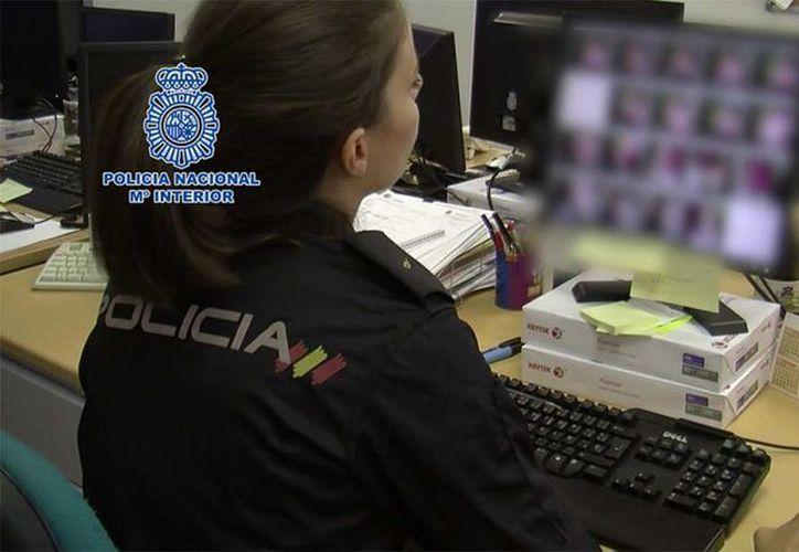 Medio centenar de personas fueron detenidas por su participación en el delito. (Brigada de Investigación Española)