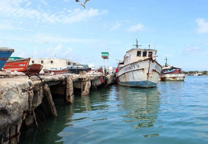 Autoridades portuarias aseguran que para la reparación general o reconstrucción de diversas zonas de este espacio, sería necesaria una inversión multimillonaria. (Milenio Novedades)