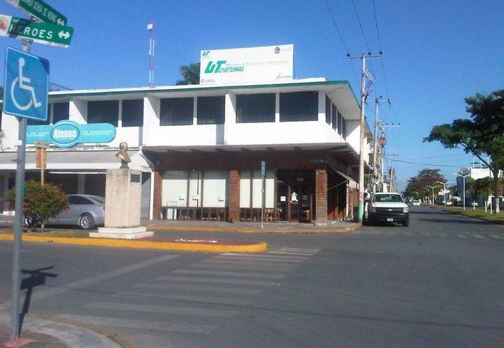 La UTCH se ubica en la avenida Efrain Aguilar, entre las calles José María Morelos y Emiliano Zapata. (Archivo/SIPSE)