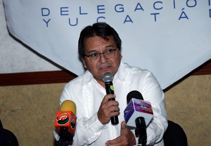 Pedro Góngora Medina pidió a los partidos no adelantarse a resultados. (Milenio Novedades)
