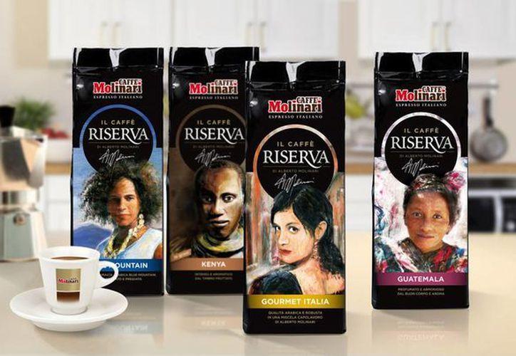 El característico café de la empresa. (Molinari Caffè)