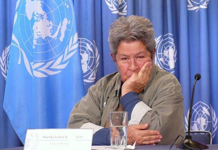 """La activista destacó que en 30 años de labor ha desarrollado """"un laboratorio vivo de prácticas ambientales"""". (cinu.mx)"""