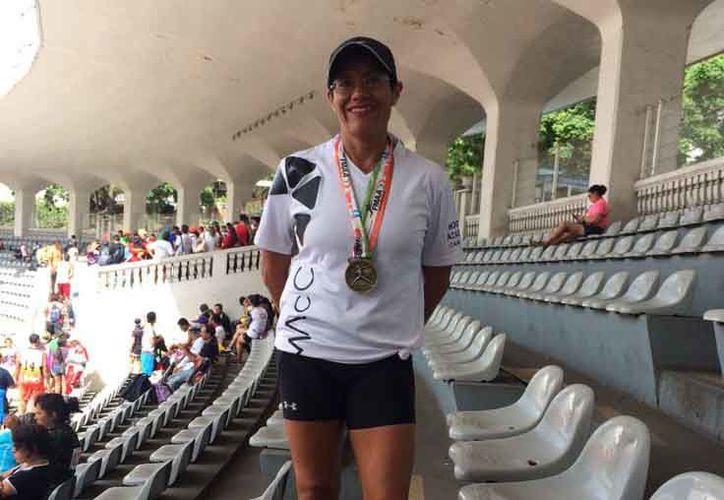 Elizabeth Romero tuvo destacada participación en Xalapa, Veracruz. (Raúl Caballero/SIPSE)