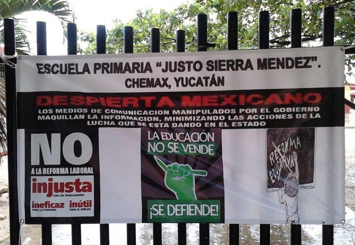 Planteles de Yucatán se sumarán al paro de labores. (SIPSE)