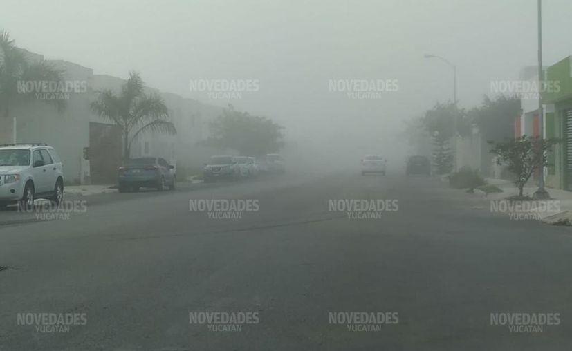 Pronostican descenso de temperaturas. (Novedades Yucatán)