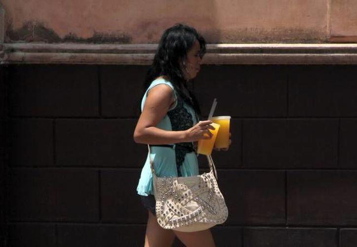 Las altas temperaturas en Mérida podrán llegar a oscilar entre los 37 y 41 grados Celsius el resto de la semana. (SIPSE)