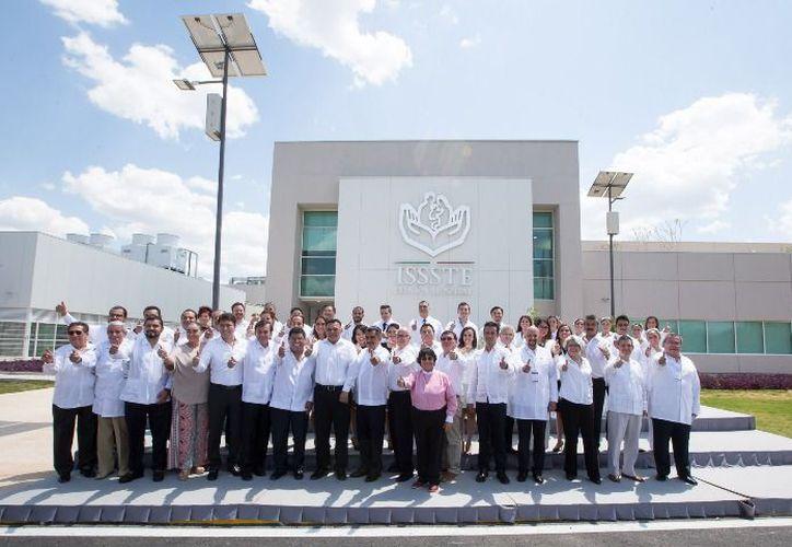 A más de 176 mil derechohabientes de la entidad beneficiará la puesta en operación del nuevo hospital. (Internet)