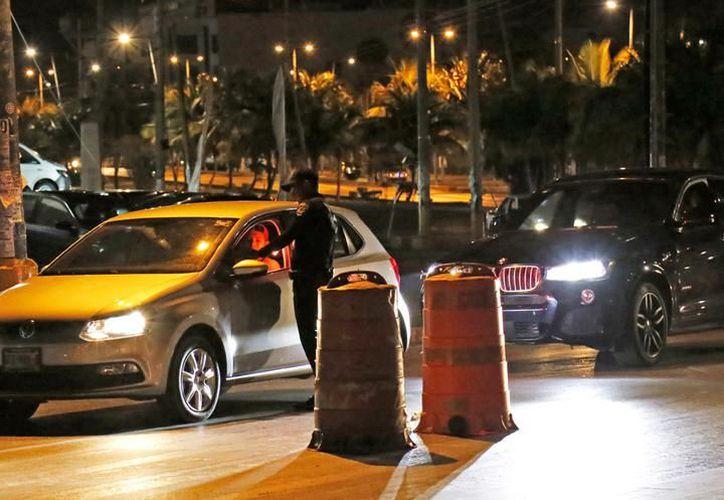 Los conductores deben cumplir un arresto en las instalaciones del Centro de Retención Municipal. (Foto: Contexto/SIPSE)