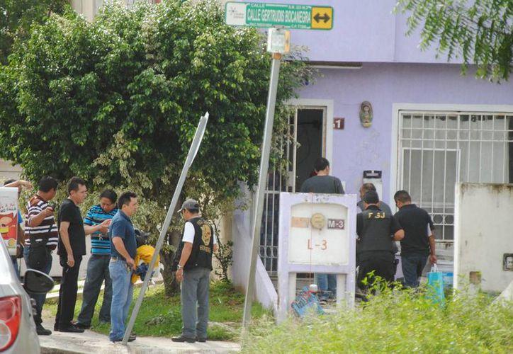 Continúan las investigaciones sobre el asesinato de Elsy N. (Eric Galindo/SIPSE)