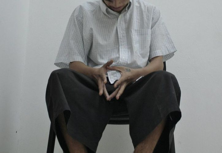 El menor fue trasladado a las instalaciones de Seguridad Pública por intentar robar un par de zapatos. (Gustavo Villegas/SIPSE)