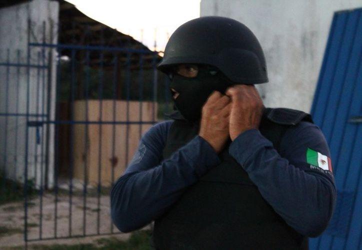Los ciudadanos ya no confían en las autoridades policiales. (Juan Carlos Gómez/SIPSE)