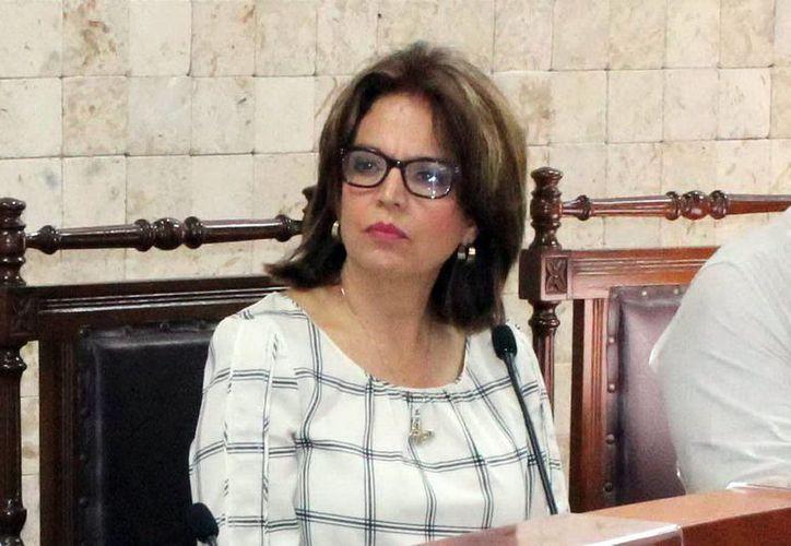 María de Lourdes Rosas Moya, presidenta del Iepac. (Milenio Novedades)
