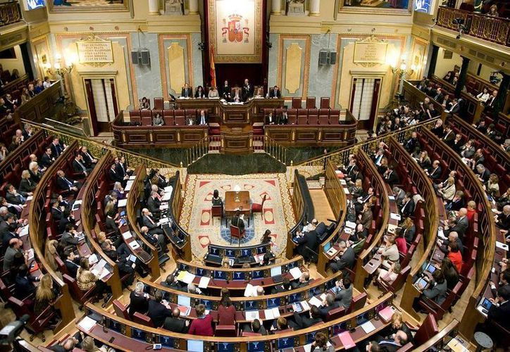 El Congreso de España se alista para debatir una segunda investidura presidencial de Mariano Rajoy Brey, propuesto por el rey Felipe VI. (Archivo/publico.es)