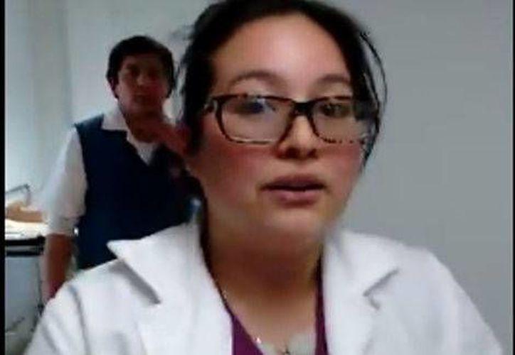 La doctora que atendió al bebé dijo a los familiares que no tenían el equipo para atenderlo. (Milenio)