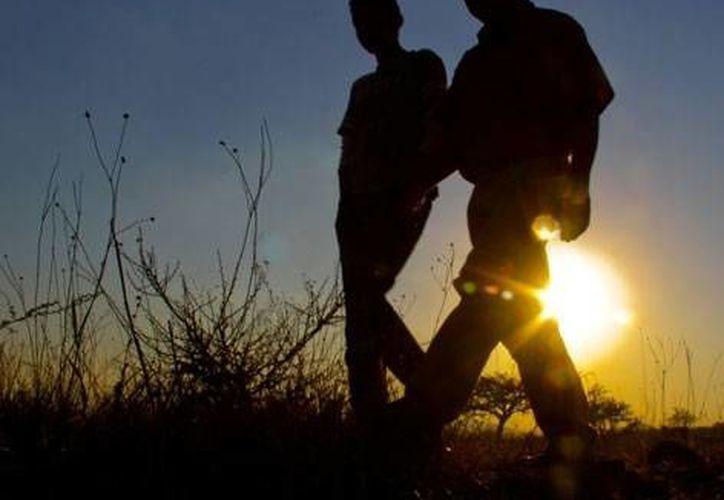 Los migrantes se encontraban extraviados en el desierto de Sonora. (Archivo SIPSE.com)