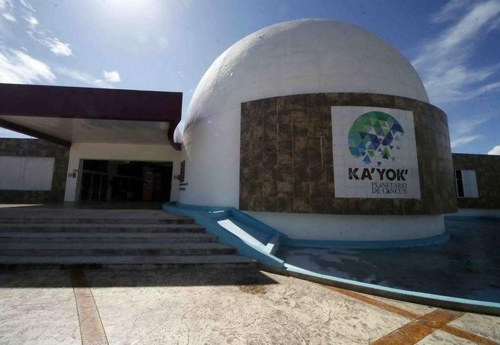 El Planetario dio a conocer sus actividades para festejar su tercer aniversario en Cancún. (Redacción/SIPSE)