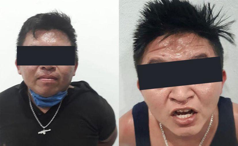 Los dos yucatecos, oriundos de Chemax, se presume que participaron en un ataque a balazos que ocurrió en Tulum el sábado pasado.