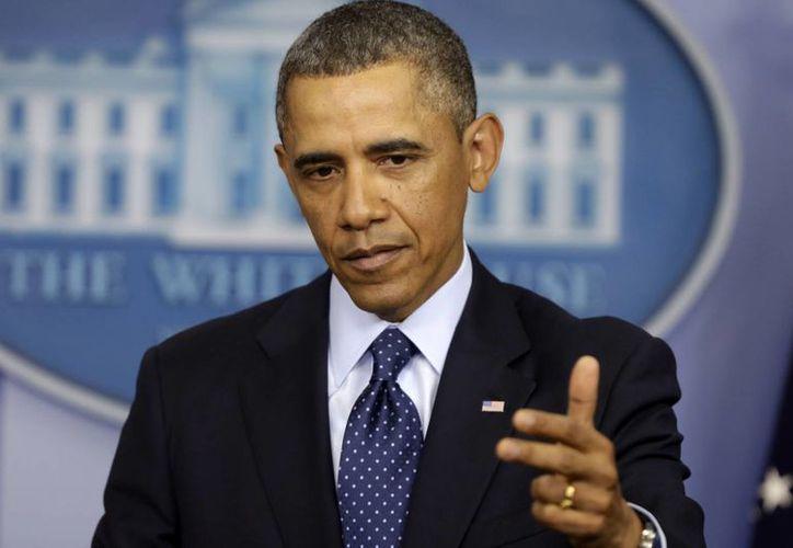 Obama invita a Moscú a que acepte el despliegue de observadores internacionales en todo el territorio de Ucrania, incluida Crimea. (Agencias)