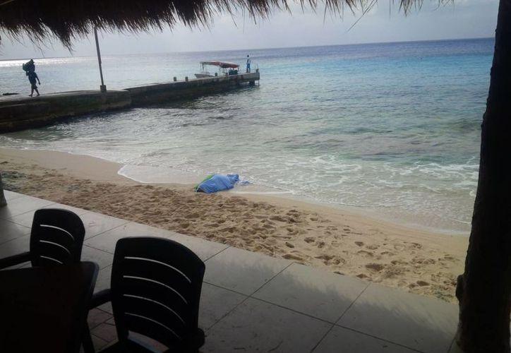 Un visitante de nacionalidad mexicana perdió la vida en una playa del norte de Cozumel. (Redacción/SIPSE)