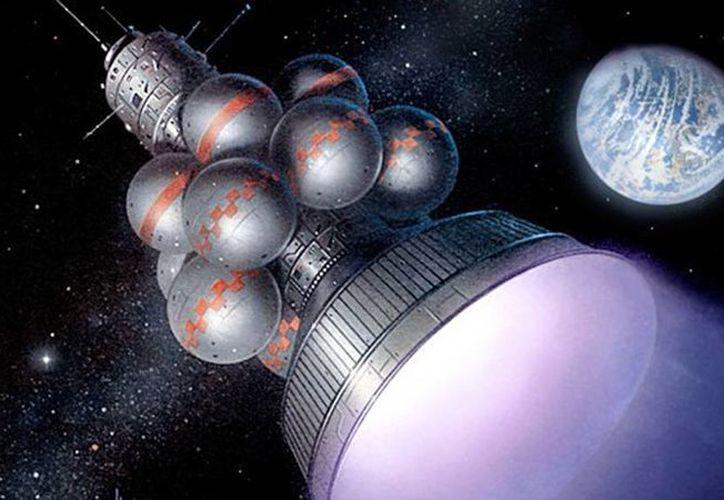 El proyecto de la nave espacial autosuficiente pordría salvar a la humanidad en caso de una catástrofe planetaria. (icarusinterstellar.org)