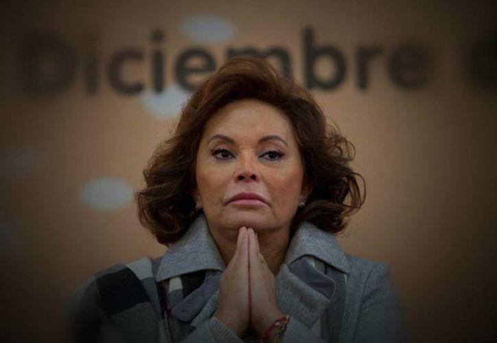 Sobre Elba Esther Gordillo Morales todavía pesan los cargos de lavado de dinero y delincuencia organizada. (Archivo/Agencias)