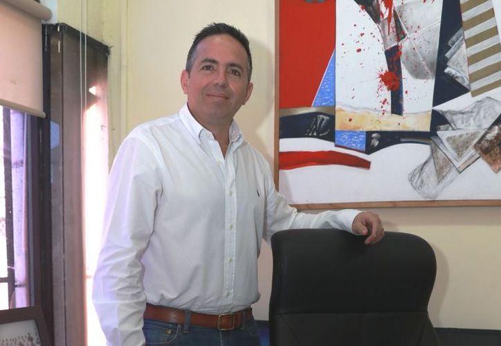 El director de Administración del Ayuntamiento de Mérida, Aquiles Sánchez Peniche.