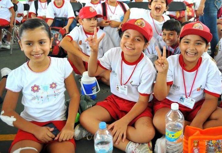 Los niños tomarán diferentes actividades durante sus vacaciones de verano. (Redacción/SIPSE)