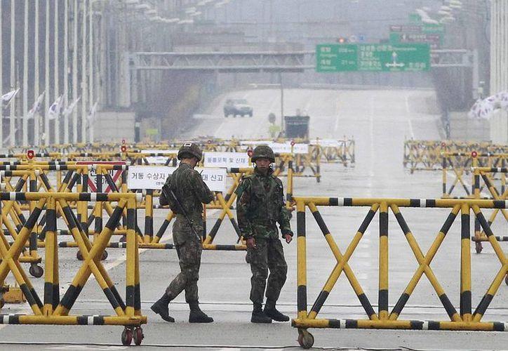 """Corea del Norte no ha hecho movimientos """"fuera de lo común"""", según informa Seúl.(Agencias)"""