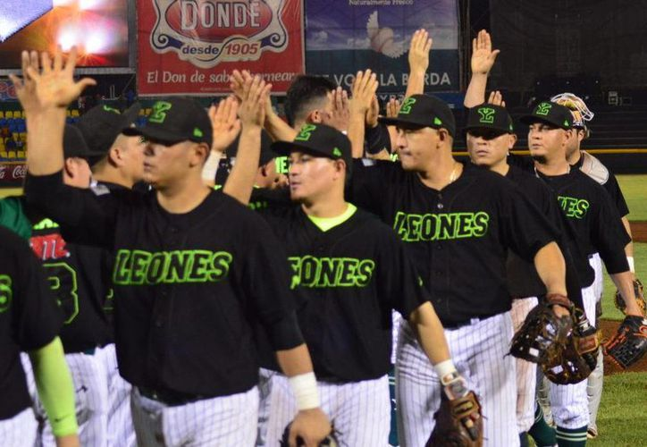 Leones cambia de horario sus partidos restantes de los sábados, antes de acabar la Temporada de la Liga Mexicana de Beisbol. (Foto tomada de Leones.mx)